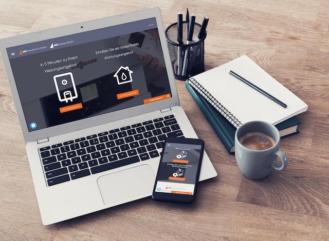Responsive Website ARE Haustechnik