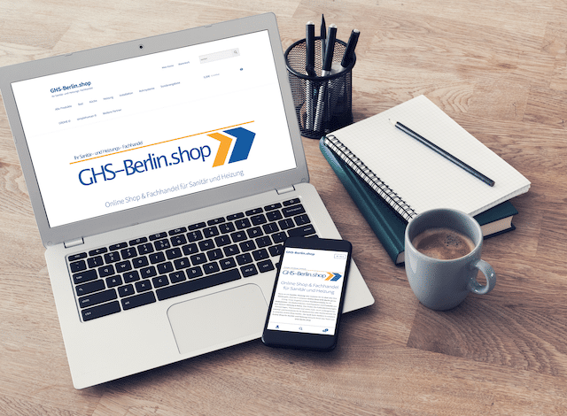 Responsive Website GHS-Berlin