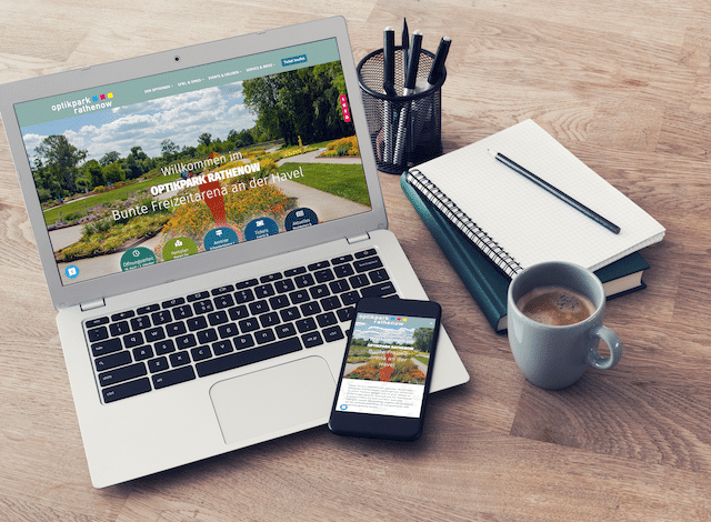Responsive Website Optikpark Rathenow
