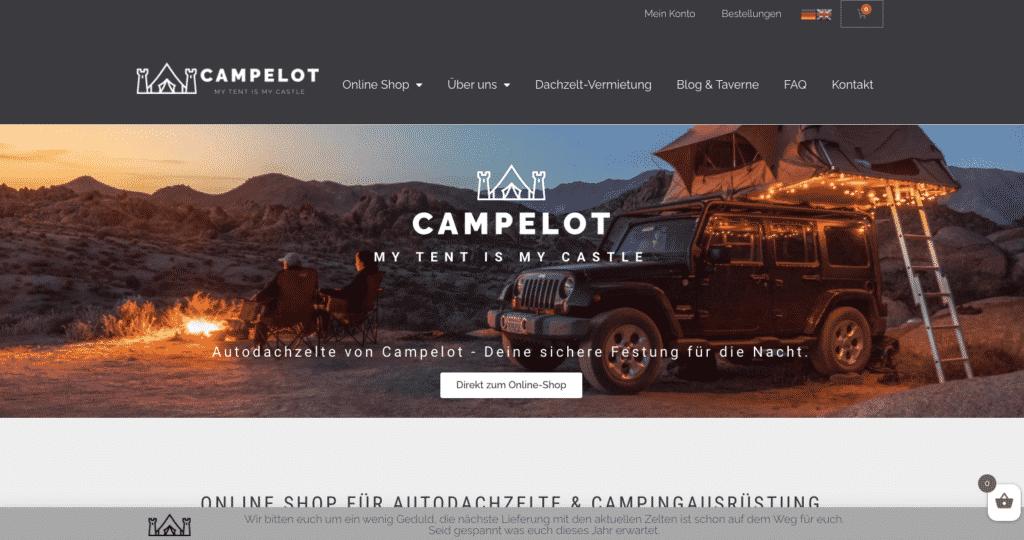 Campelot Startseite